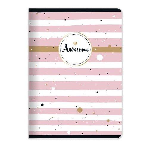 """Тетрадь """"Bonnie"""", 48 листов, в клетку, 15 х 21 см, розовая marker тетрадь дрова 100 листов в клетку цвет коричневый"""