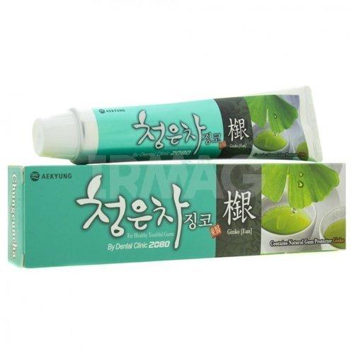 Зубная паста Восточный чай с Гинкго зубная паста восточный чай с гинго 130 гр kerasys