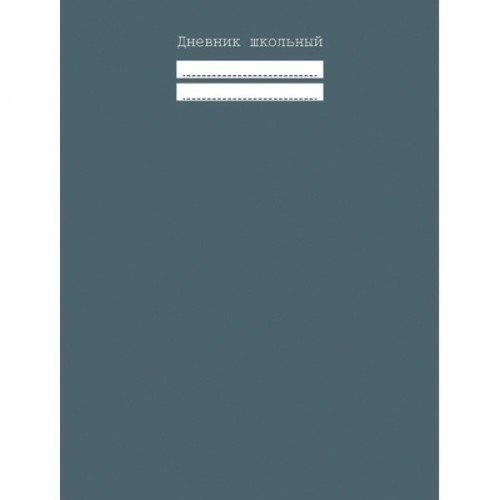 Дневник для средних и старших классов Графитовый, 48 листов