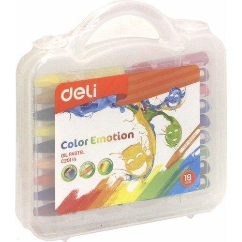 """Пастель масляная """"Color Emotion"""", 18 цветов"""