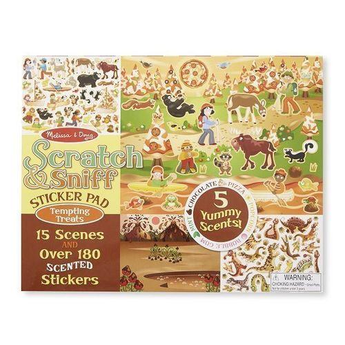 Набор стикеров Вкусные угощения набор наклеек melissa