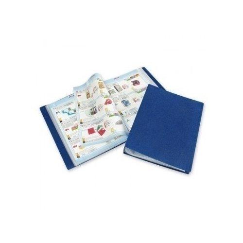 Фото - Папка для файлов КТ-60/045, синяя папка с файлами inформат а4 20 файлов черный пластик 500 мкм карман