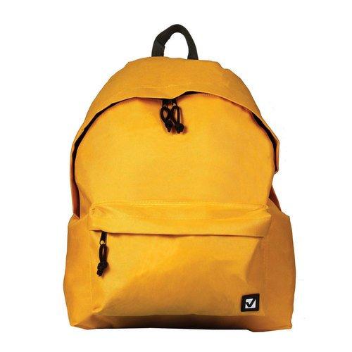 Городской рюкзак, 20 л, 41 х 32 х 14 cм, желтый
