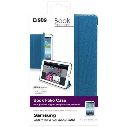 """Чехол для Samsung Galaxy Tab3 """"Book Folio Case"""", голубой"""