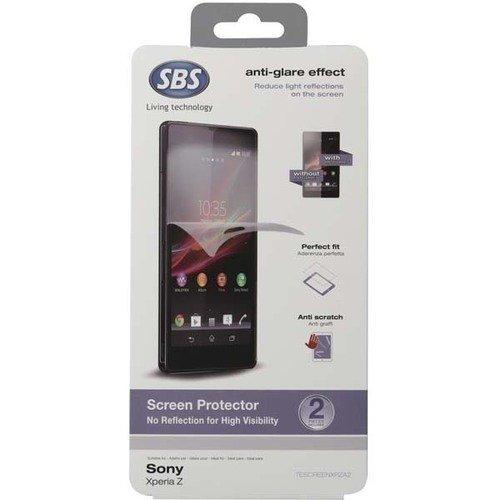 Антибликовая защитная пленка для Sony Xperia Z защитная пленка luxcase для sony xperia e e dual антибликовая 53х92 мм