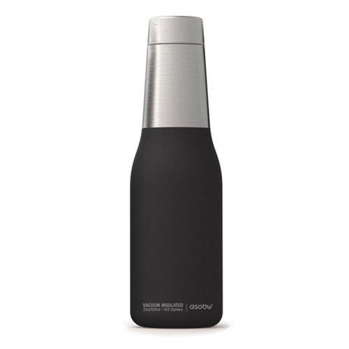 Термобутылка Oasis, 590 мл, черная термос бутылка oasis 590 мл розовая