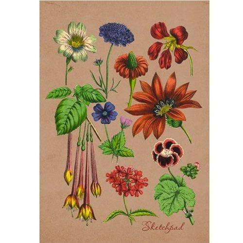 """Скетчпад """"Ботанический сад"""" А5, 40 листов"""