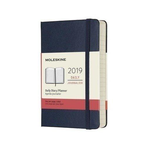 Ежедневник Classic Pocket, 90 x 140 мм, 400 страниц, синий сапфир цена