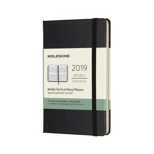 Еженедельник Classic WKLY Pocket, 90 x 140 мм, 144 страниц, черный еженедельник moleskine classic wkly pocket 90x140мм 144стр красный