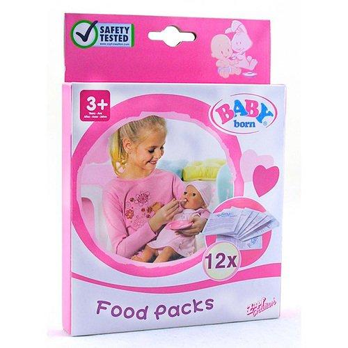 Детское питание для куклы, 12 пакетиков
