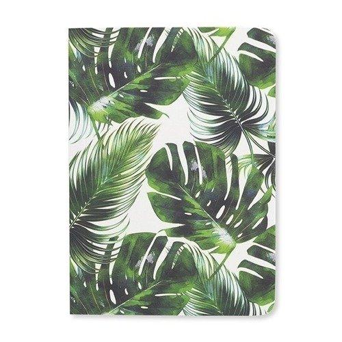 Блокнот Palm Leaf Print А6, 192 стр. palm leaf print ladder strap side racer cami top