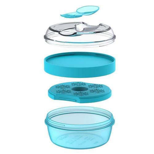Ланч-бокс с охлаждающим элементом N'ice Cup™, бирюзовый david thomas n sea ice