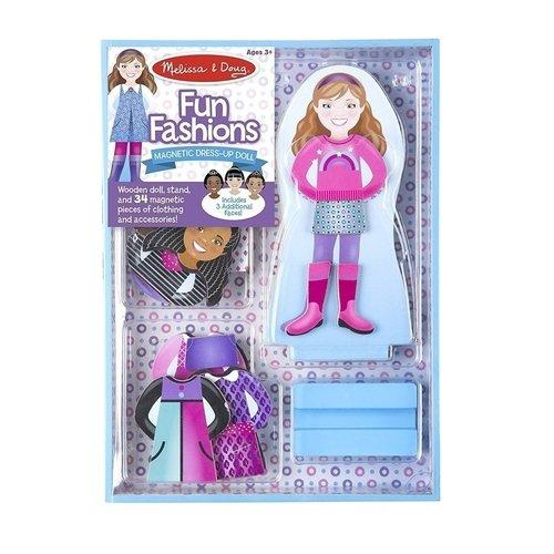 Купить Магнитный набор Забавная мода , 32 предмета, Melissa & Doug, Развлекательные и развивающие игрушки