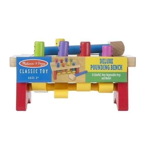Купить Игра Забить в лунки , Melissa & Doug, Развлекательные и развивающие игрушки