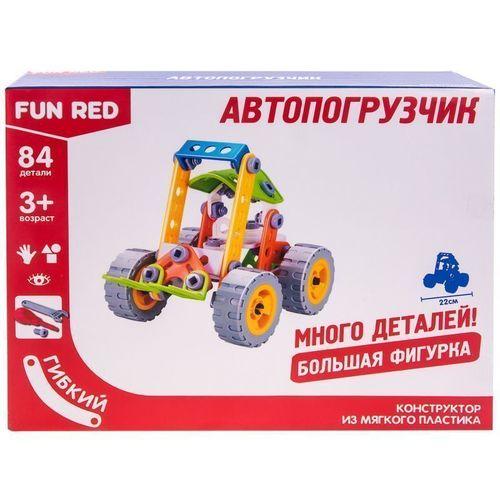 Гибкий конструктор Автопогрузчик, 84 детали fun red автопогрузчик 84 детали разноцветный