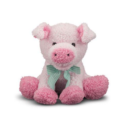 Мягкая игрушка Свинка, 18 см