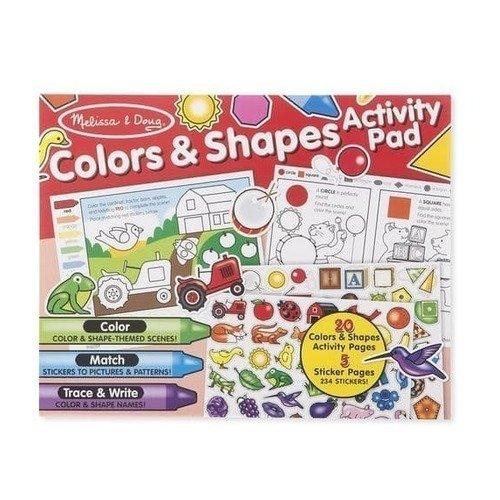 Набор стикеров Цвет и формы наклейка