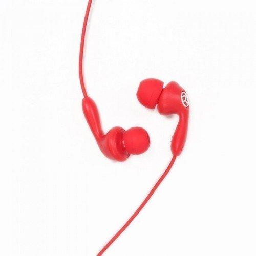 Гарнитура проводная RM-505, красная гарнитура