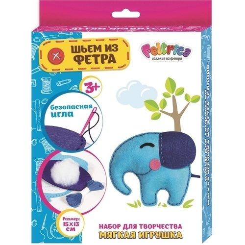 Набор для творчества Шьем из фетра. Голубой слон