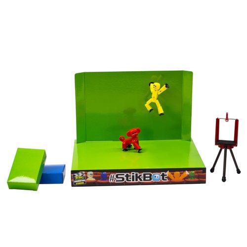 Игровой набор Анимационная студия со сценой и питомцем, в ассортименте stikbot tst617 стикбот анимационная студия со сценой