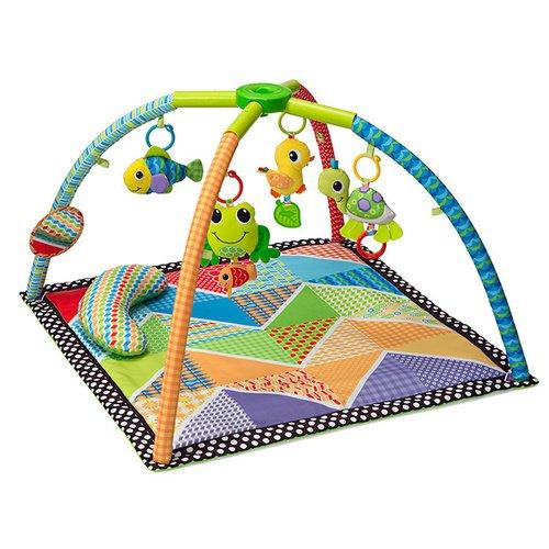 Развивающий коврик «Озеро» гимнастический коврик с дугами тучки skip hop