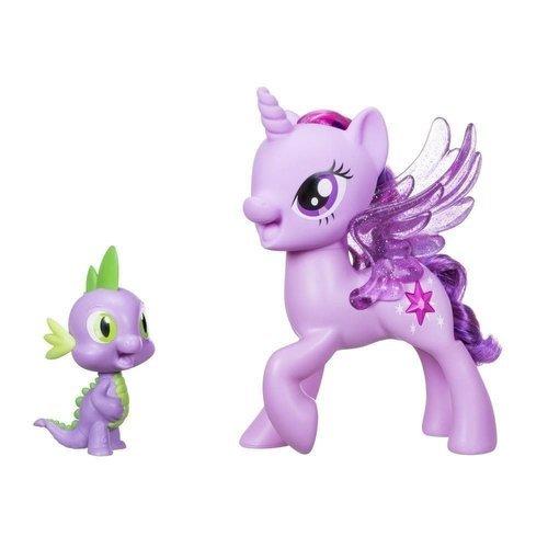 Пони Твайлайт Спаркл и Спайк, поющие hasbro my little pony сияние поющая твайлайт спаркл и спайк c0718121