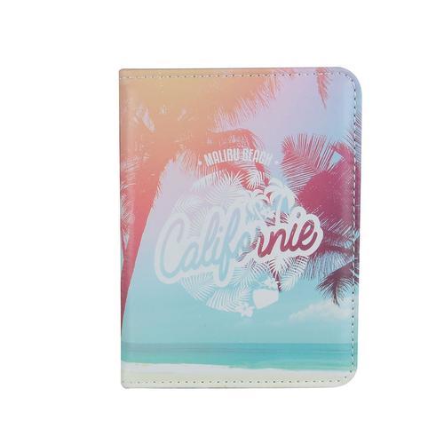 """Обложка для паспорта """"Californie"""", голубая цена в Москве и Питере"""