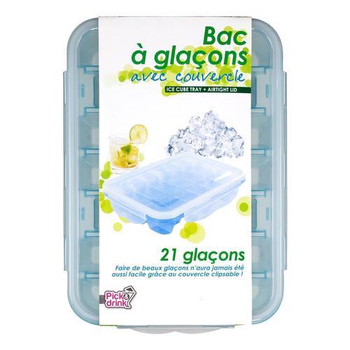 Форма для льда с пластиковой крышкой
