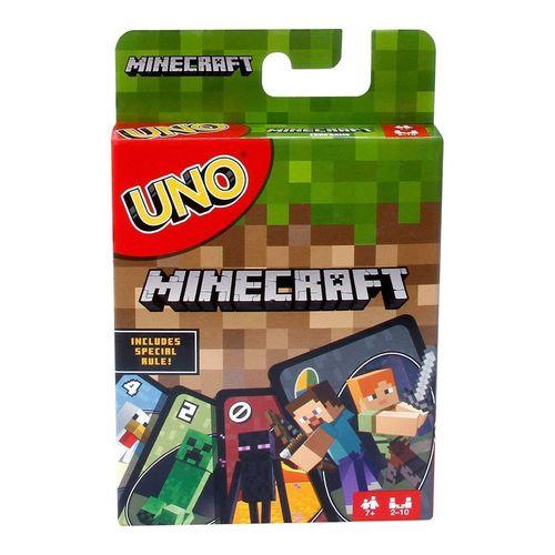 Уно Майнкрафт игровой набор uno уно дисплей w2087
