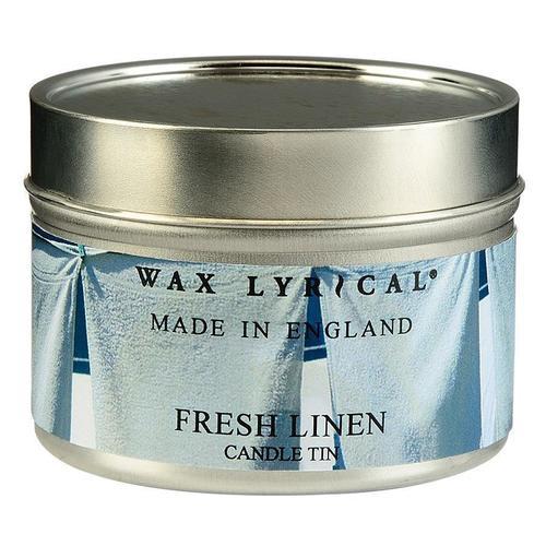 Свеча ароматическая Лен свеча ароматическая лампадная wax lyrical свежий лен 14 часов 130 г
