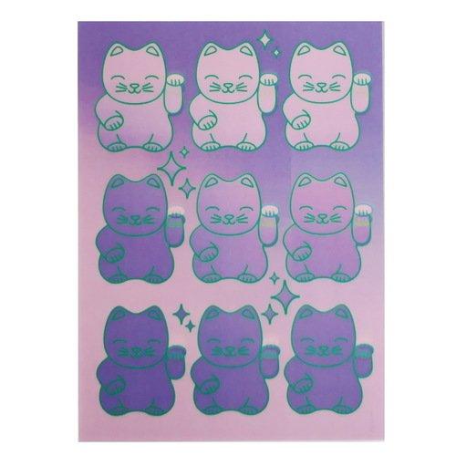 Открытка стерео-варио Котики открытка поехали из серии бессмысленные котики автор татьяна перова