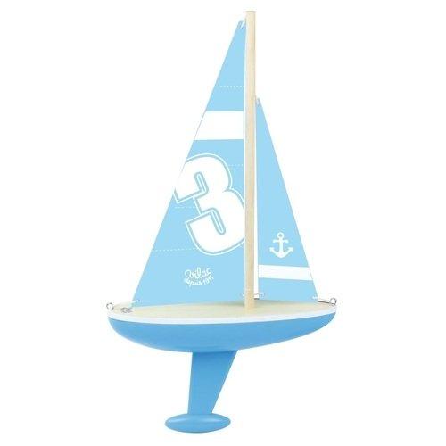 Игрушка Парусник джинсы женские oodji ultra цвет голубой джинс 12104065 1b 46734 7000w размер 28 32 46 32