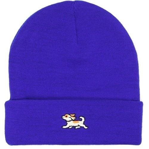 Шапка Dog Navy, синяя шапка запорожец rombik logo navy brown