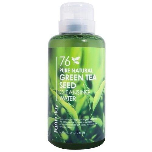 Очищающая вода с экстрактом зеленого чая schaebens маска очищающая пилинг с экстрактом янтаря 5 мл 25шт 1070