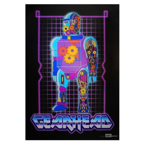 "Постер Рик и Морти ""Робот"" А2"