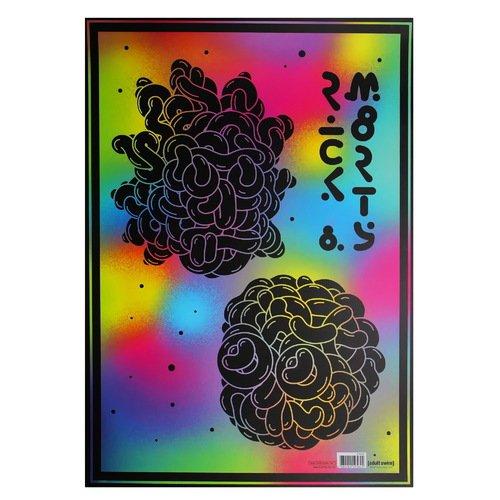 """Постер Рик и Морти """"Молекулы"""" А3"""