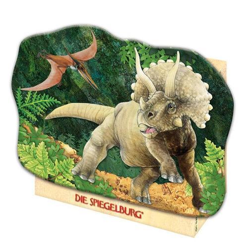 """Мини-пазл """"Triceratops T-Rex"""", 40 элементов цена 2017"""