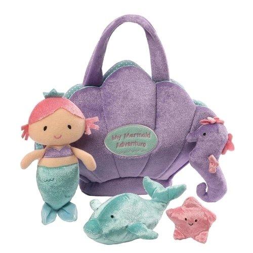 Купить Мягкая игрушка Mermaid Adventure Play Set , 26, 5 см, GUND, Мягкие игрушки