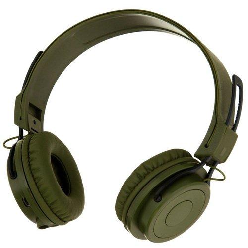 Беспроводные наушники Bluetooth Mysound BH-02 2C, зеленые цена и фото