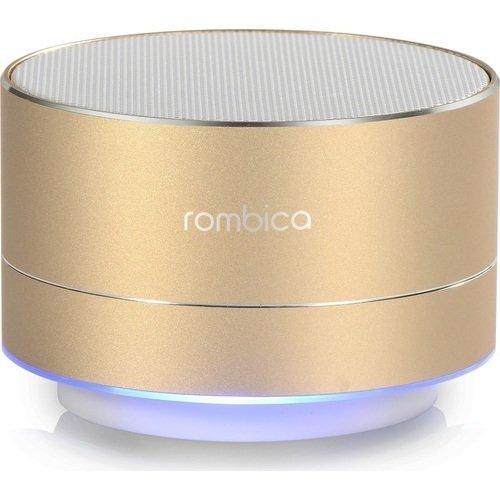 Портативная акустика Bluetooth Mysound BT-03 4C, золотистая rombica mysound bt 01 2c blue портативная акустическая система