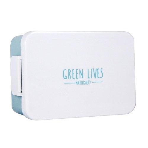 Ланч-бокс Green Lives бокс для хранения вещей kiss the plastic industry