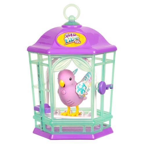 Птичка с клеткой со светящимися крылышками Радужный Свет цена