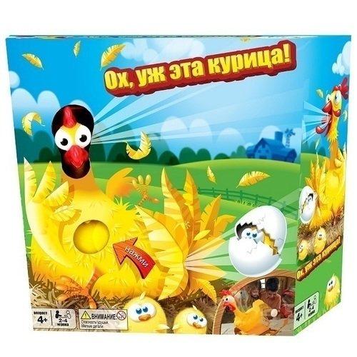 Купить Настольная игра Ох, уж эта курица! , Ooba, Игры для детей
