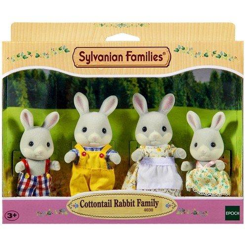 Игровой набор Семья Серых Кроликов игровые наборы sylvanian families игровой набор семья шоколадных кроликов