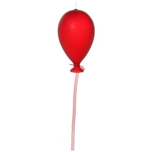 Елочный шарик, 14 см, красный