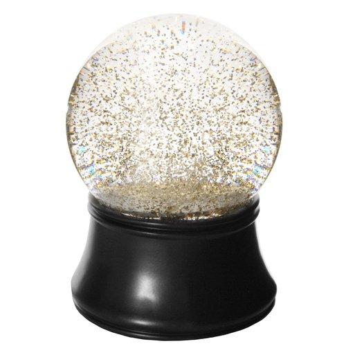 Снежный шар с музыкой и блестками, 12 см снежный шар сима ленд дед мороз прячет подарки 14x10 5x10 5cm музыкальный 2005341