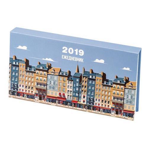 Фото - Еженедельник Port на 2019 год, датированный кеды мужские vans ua sk8 mid цвет белый va3wm3vp3 размер 9 5 43