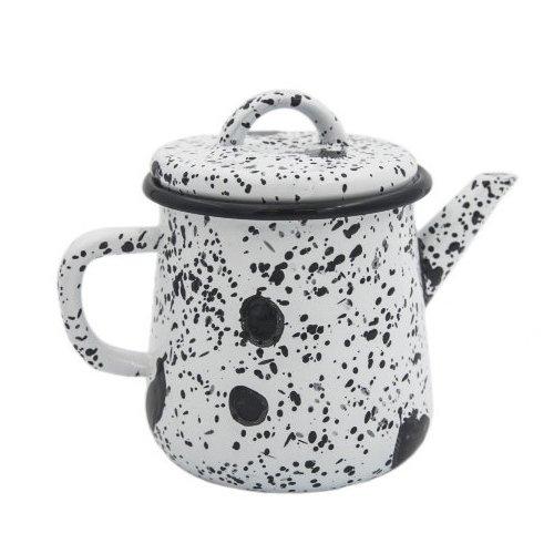 """все цены на Эмалированный чайник """"Black on White"""", 1 л онлайн"""