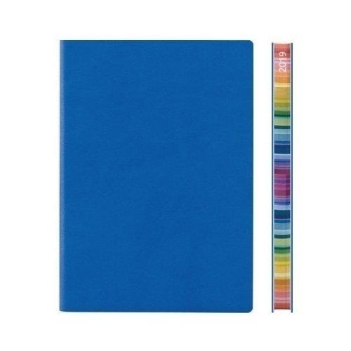 Ежедневник датированный Signature Chromatic А6 на 2019 год, 192 стр., голубой щипцы centek ct 2084