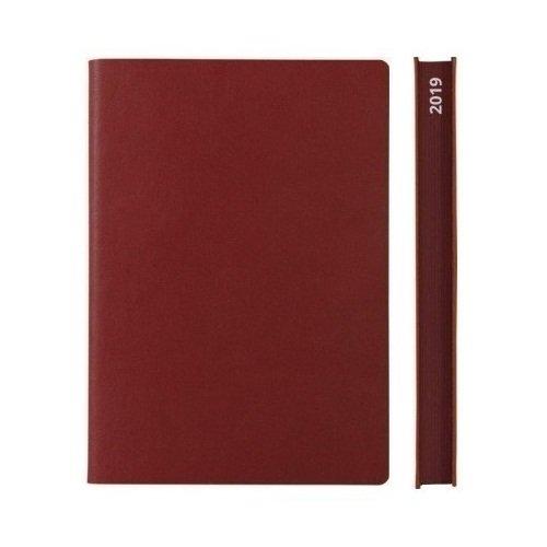 Ежедневник на 2019 год Signature Diary А6, красный, 400 стр.